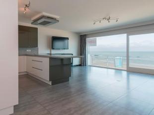 Zeer ruim (123m²) en prachtig afgewerkt appartement met 2 à 3 slaapkamers op de Zeedijk van Middelkerke. Mooie woonkamer met fantastisch z