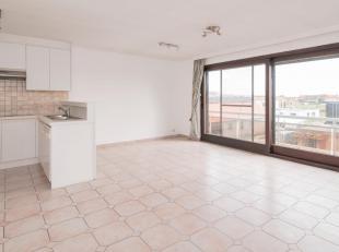 Zeer aangenaam appartement met zonnige en ruime woonkamer met open keuken en terras.<br /> Badkamer douche en lavabo, apart toilet. 2 ruime slaapkamer