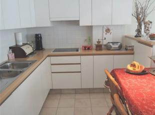Ruim appartement met schuin zeezicht in het hartje van Middelkerke.<br /> Het nette appartement bevindt zich op 20 meter van de zeedijk en op 100 mete