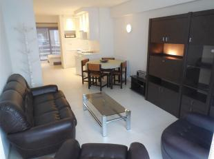 Aangenaam en leuk appartement met 1 slaapkamer in het centrum van Middelkerke. <br /> Bestaande uit woonkamer met open, ingerichte keuken, vernieuwde