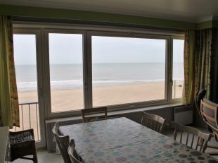 Ruime, luchtige studio aan het rustige gedeelte van de Zeedijk. BREED FRONTAAL ZEEZICHT. Aparte keuken welke makkelijk kan geÃÂntegreerd