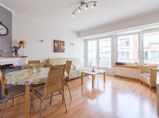 Lichtrijk, ruimtelijk appartementbestaand uit<br /> Ruime leefruimte<br /> Aparte, moderne keuken met doorgeefluik<br /> 1 ruime slaapkamer<br /> Badk