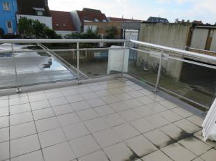 De studio bevindt zich op het gelijkvloers met een ruim zonnig terras op een kleine wandelafstand van strand en tramhalte (Westende Bad). Omvat: leefr