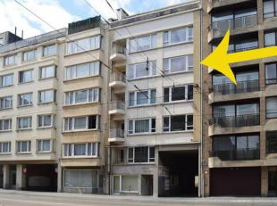 """Zeer centraal & toeristisch gelegen appartement """"Residentie Royal Plage"""" (4e verd) met terras te Oostende.<br /> Appartement omvat een gezellige l"""