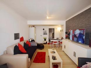 Deze gemeubelde studio gelegen op het gelijkvloersverdiep omvat een gezellig ingerichte leefruimte met slaaphoek, apart ingerichte keuken, badkamer me