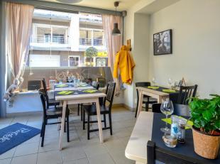 Kleinschalig restaurant over te nemen in winkelstraat Bredene. Dit restaurant beschikt over 10 zitplaatsen met een open keuken. Ideaal voor de starter