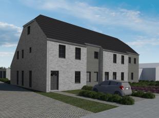 Prachtige halfopen nieuwbouwwoning in het landelijke Westkerke. Deze woning is ingedeeld op het gelijkvloers met inkomhal met apart toilet, bureauruim