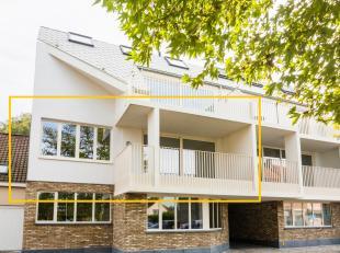 """Dit appartement is gelegen op de eerste verdieping van de nieuwbouwresidentie """"Huis Inghelram"""". Het volledige gebouw is opgetrokken in duurzame en kwa"""