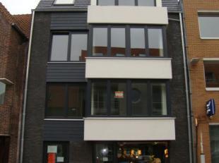 Vrij recent appartement , gelegen op zeer centrale ligging te Gistel. Voorzien van mooie living met open keuken, slaapkamer, badkamer met douche, keld