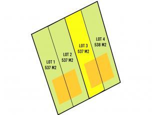 Prachtig gelegen stuk bouwgrond voor halfopen bebouwing in Torhout. Grondoppervlakte: 537 m2<br /> Dit stuk bouwgrond is gelegen vlakbij het centrum v