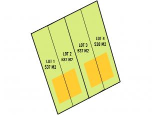 4 loten bouwgrond in rustige omgeving te Torhout. Gelegen vlakbij invalsweg en oprit en afrit E-403.<br /> Het betreft 4 loten bouwgrond voor halfopen