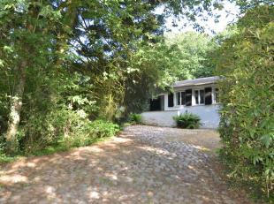 Villa met bos op 7.520m² en gelegen in waarschijnlijk één van de mooiste plekjes in Bellegem...Villa bestaande uit hal, zeer ruime