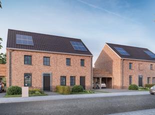 Centraal gelegen project met 4 ruime halfopen BEN (bijna energieneutraal) nieuwbouwwoningen in landelijke stijl. Lot 1: 284m² - lot 2: 285m²