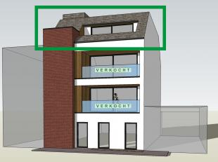 PENTHOUSE APPARTEMENT te koop in een nieuwbouwproject van 4 luxe appartementen van ca. 95 m², AANGEPAST om levenslang te kunnen blijven wonen.<br