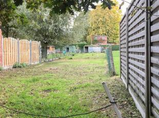 Ce terrain situé dans la Weidenstraat près de la maison no. 25-35 est idéalement calme mais facilement accessible.Des plans ont d