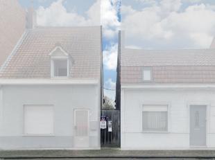 Cette petite maison de ville à rénover avec jardin ensoleillé est située sur un terrain de 395 m². La maison est situ