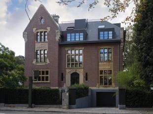 AUDERGHEM, entre l'Avenue de Tervuren et le Domaine du Val Duchesse : Exceptionnel PENTHOUSE (2ch+bur/2sdb) de 200m² habitables avec grande terra