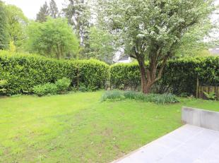 UCCLE - In a natural area, next to the Fort Jaco and Prince d'Orange , near the French Lycée, architect' HOUSE (3ch/1bur/2SDB)  of 1980 with a