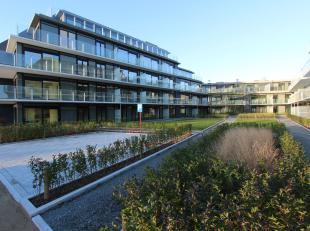 Uitermate gezellig, gelijkvloers nieuwbouwappartement te huur in de Residentie Waterfront te Nieuwpoort-Stad. Gelegen aan de autoluwe Pieter Deswartel