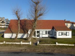 Uniek gelegen op 50 meter van het strand (Groenendijk/Plage) en op wandelafstand van het centrum van Nieuwpoort-Bad: Zeer charmante villa/fermette met