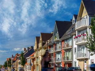Prachtige nieuwbouw Nieuwpoort - Stad! <br /> Duplex appartement:<br /> - 2 slaapkamers, 1 op de benedenverdieping en 1 op de bovenverdieping <br /> -