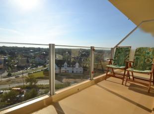 Prachtig appartement met 1 slaapkamer, gelegen op de 8e verdieping en genietend van een prachtig zicht op de Westhoekverkaveling en dit aan de Esplana
