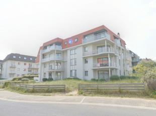 Hoekappartement met drie slaapkamers vlakbij de zee van Oostduinkerke, ter hoogte van het Zonneplein inkomhall, ruime living met groot hoekterras, ope