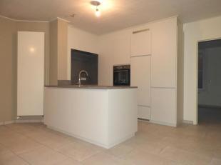 Appartement non-meublé avec une chambre à coucher.Composition: Hall d'entrée, living, cuisine ouverte, une chambre à couch