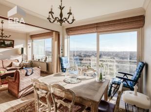 Studio, zonnekant, met prachtig zicht op de duinen van De Westhoek te De Panne !Indeling: inkomhall, badkamer met zitbad, apart toilet, keuken, leefru