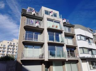Appartement duplex dans une nouvelle construction près de la Digue et la Centre de La Panne !Composition: hall dentrée, living avec cuis