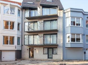 Appartement très récent 1 chambre à De Panne !Composition: Hall d'entre, living avec cuisine ouverte, terrasse, une chambre &agra