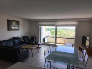 Nieuwpoort-Bad : ruim appartement met prachtig zicht op de duinenIndeling: Inkomhal, living met open keuken, wc, nachthal mét slaapplaats 2p, b