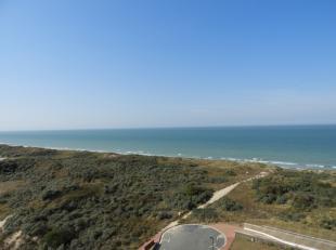 Gezellig appartement met prachtig zicht op zee en duinen !Indeling: inkomhal, living, ingerichte keuken, apart toilet, één slaapkamer, b