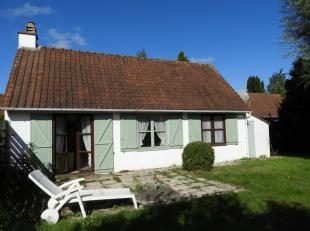 Gezellig vissershuisje met 3 slaapkamers in een vakantiedomein te Adinkerke (De Panne)Indeling: Inkom met vestiaire, leefruimte met open keuken en toe