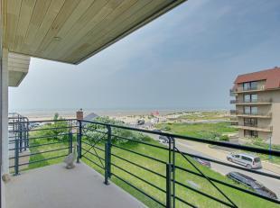 Oostduinkerke : luxe appartement op het strand van Groenendijk !Indeling: inkomhal, living met groot terras, ingerichte open designkeuken, berging, ga