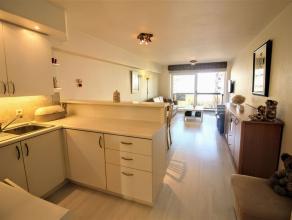 Volledig gerenoveerd appartement met 2 slaapkamers en frontaal zeezicht in het centrum van Oostduinkerke-bad. Gemeubeld en instapklaar. Omvat inkome m