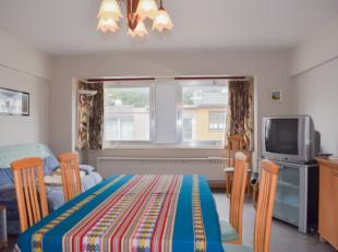 Aangenaam appartement met 2 slaapkamers, rustig gelegen in het centrum van De Panne. Groene omgeving nabij het stadspark. Op wandelafstand van de Zeed