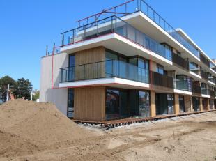 Erkende assistentieflat gelegen op de hoek van het project 'T Zout te Sint-Idesbald. Vlak bij het strand en het centrum is dit project zeer gunstig ge