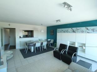 Ruime duplex in residentie Solaria met 4 slaapkamers gelegen op wandelafstand van het strand.Het appartement is gelegen op de 3de verdieping en omvat: