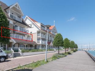 Residentie Nantucket is de voorlaatste residentie van Storms' Harbour Waterfront, waar het laatste doorloopappartement met zicht op de jachthaven in v