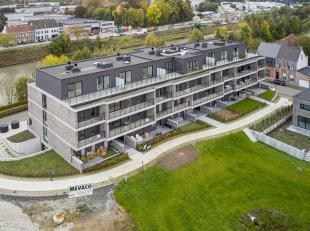 Dit prachtig appartement vinden we terug op de 3e verdieping van residentie De Barge, gelegen in Woonpark de Weverij. Het appartement is toegankelijk