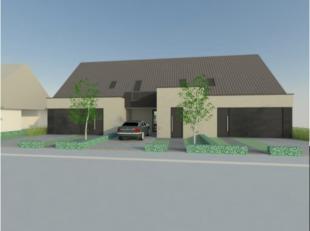 Nieuwbouwproject in het hartje van Egem bestaande uit 3 kwaliteitsvolle moderne ruime eengezinswoningen met 3 slaapkamers. De visualisaties in bijlage