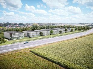 Nieuwbouw KMO-units gelegen langzij de Meiboomlaan en R32 in Roeselare. Het KMO-project telt 5units met een oppervlaktes vanaf 324 m².De gebouwen
