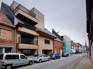 APPARTEMENT 1.1.<br /> Appartement op de eerste verdieping met een bewoonbare oppervlakte van 100 m² en een terras van 26,50 m².<br /> Indel