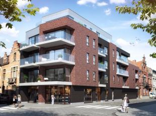 """Loft-appartement deel uitmakend van de nieuwbouwresidentie """"De Blauwvoet"""" gelegen in het centrum met zich op het Pieter DeConinckplein.<br /> Gelegen"""