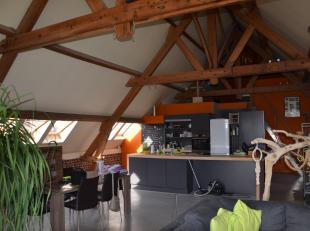 Moderne loft met ruim terras en garage<br /> Loft omvattende gelijkvloers: inkom, garage en wasplaats.<br /> Verdieping: zeer grote leefruimte met ing