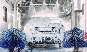 Bedrijfsgedeelte : Commercieel draaiende carwash te koop op top locatieVolledig uitgeruste roll over car washmoderne faciliteitafdeling voor interieur