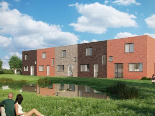NIEUWBOUW WONING MET 3 SLPKS, TUIN EN ZONNEPANELEN<br /> Deze moderne woning ligt in een nieuwe en rustige verkaveling nabij de oprit van de A19.<br /