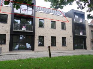 Volledig nieuw appartement op 2e verdieping.Groen en kindvriendelijk gelegen in centrum Ieper.Woonkamer met open keuken, 1 slaapkamer, badkamer met do