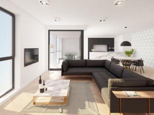 Appartement met 3 slaapkamers, ruime woonkamer, volledig ingerichte keuken, badkamer met bad en dubbel lavabomeubel, afzonderlijk toilet en ruime berg